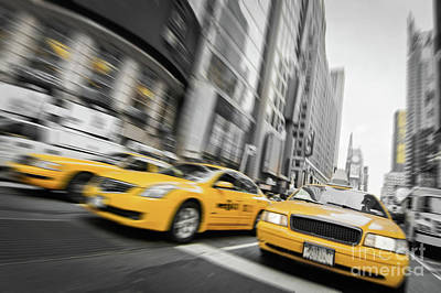 Designs Similar to Yellow Cabs In New York