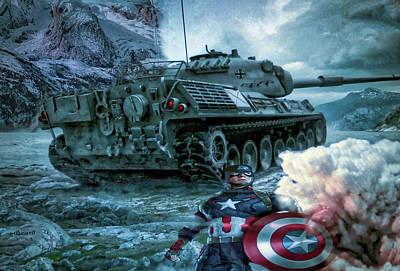 Captain America Digital Art