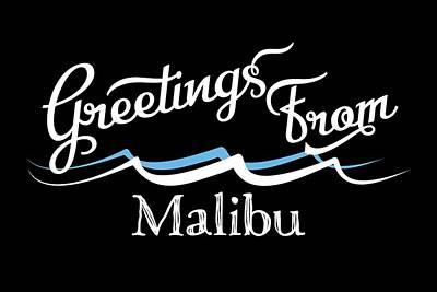 Designs Similar to Malibu California Water Waves
