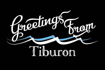Designs Similar to Tiburon California Water Waves