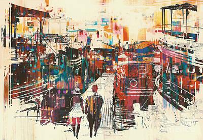 Pier Digital Art