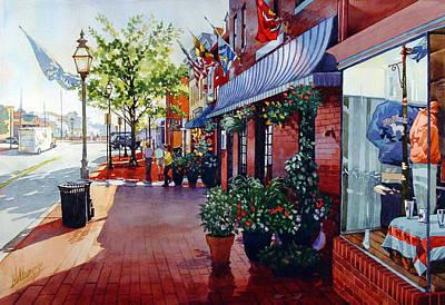 Seaport Paintings