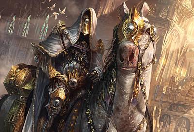 The Horse Digital Art