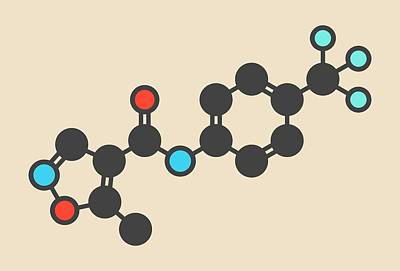 Designs Similar to Leflunomide Drug Molecule