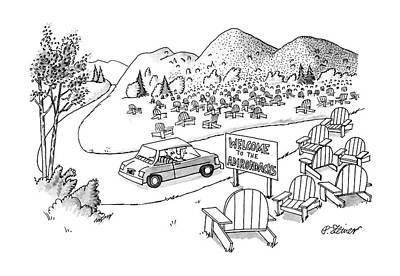 Adirondack Chair Drawings