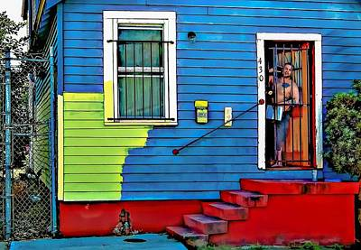 House Painter Digital Art