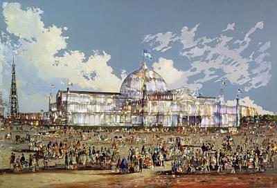 Glass Oil Dome Art
