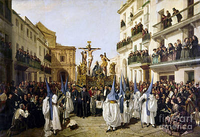 Designs Similar to Seville: Good Friday, 1862