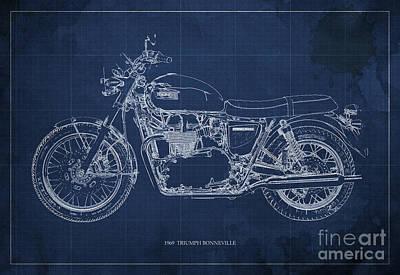 Moto Blueprint Drawings