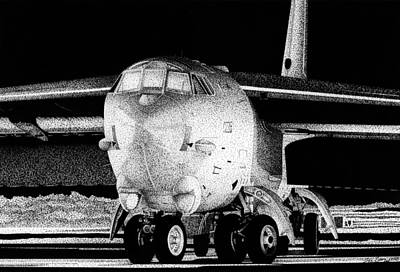 B-52 Mixed Media