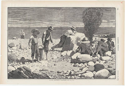 Designs Similar to A Clam Bake by Winslow Homer