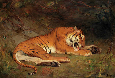 Designs Similar to Tiger At Rest by Gustave Surand