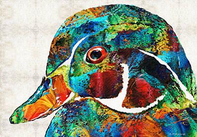 Wood Ducks Paintings