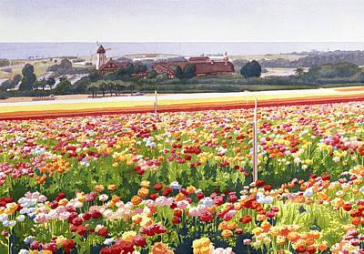 Flowerfields Paintings