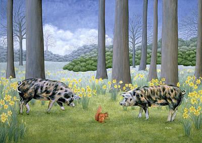 Pig Paintings