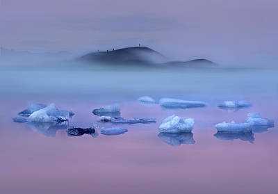 Designs Similar to Pink Lake And Photographers
