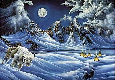 Lori Salisbury: Moon Art
