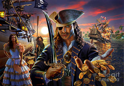 Pirate Wench Art
