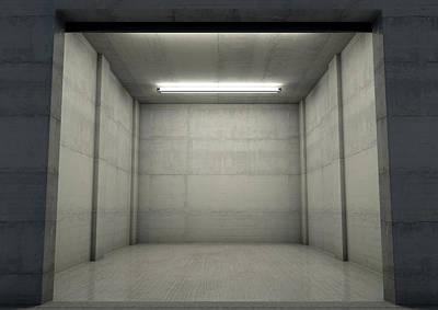 Designs Similar to Empty Single Garage Night