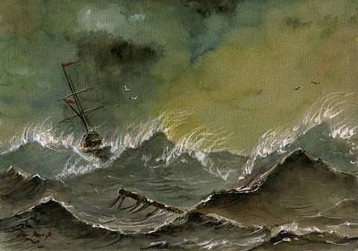 Designs Similar to Sail Ship Watercolor