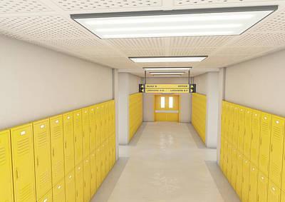 Designs Similar to Yellow School Lockers Light