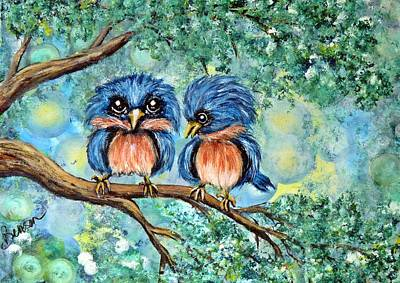 Designs Similar to Bluebirds by Char Benson Arts