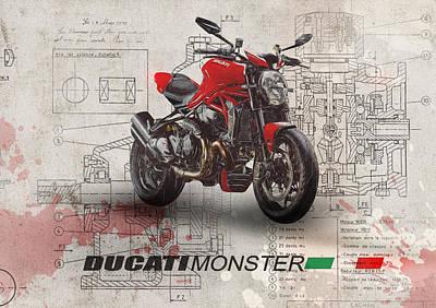 Designs Similar to Ducati Monster 1200 R