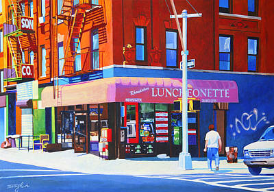 Mott Street Paintings