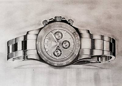 Roger Federer Drawings Original Artwork