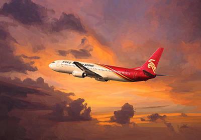 Shenzhen Airlines Art