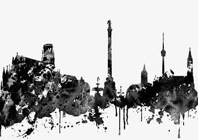 Designs Similar to Stuttgart Skyline-black
