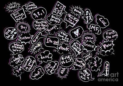 Speech Bubble Art