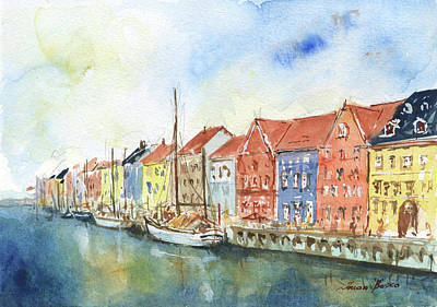 Designs Similar to Copenhagen Nyhavn by Juan Bosco