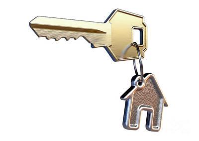 Designs Similar to Key And House Keyring