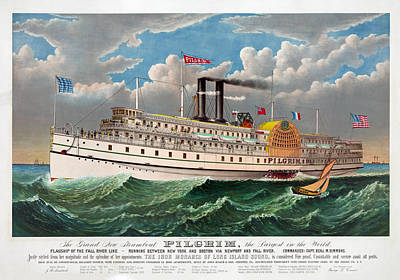 Designs Similar to The Steamboat Pilgrim