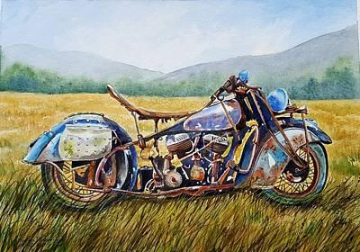 Designs Similar to Vintage Motorcycle