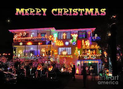 Christmas Greeting Photographs Original Artwork
