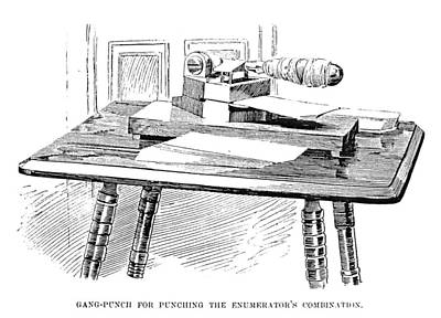 Designs Similar to Census Machine, 1890 by Granger
