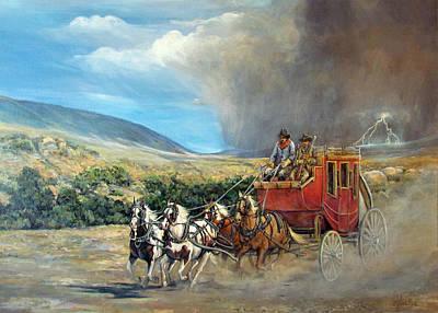 Wells Fargo Stagecoach Prints