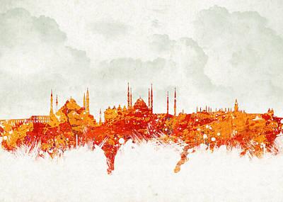Business-travel Mixed Media Prints