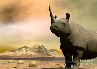 Rhinocerus Original Artwork
