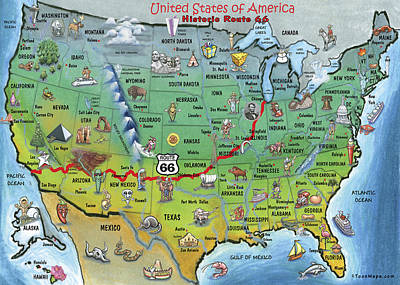 Historic Route 66 Posters