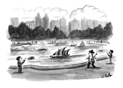 Toy Boat Drawings