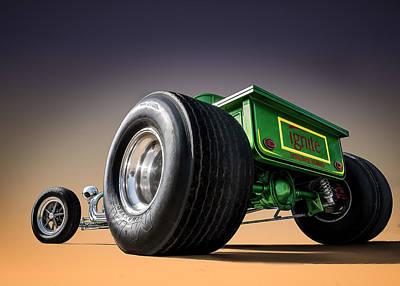 Ford Model T Car Digital Art Prints
