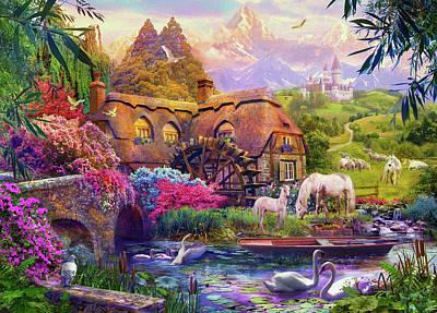 Floral Digital Art Posters