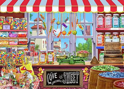 Candy Jars Art