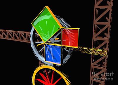 Designs Similar to Pythagorean Machine Landscape 1
