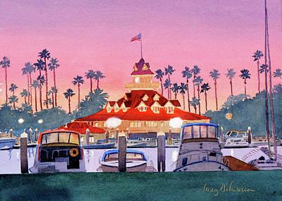 Designs Similar to Coronado Boathouse After Sunset