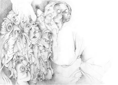 Psychedelic Black And White Pencil Surreal Drawings