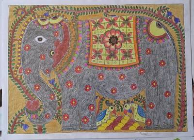 Designs Similar to Madhubani Art by Pallavi Padhye